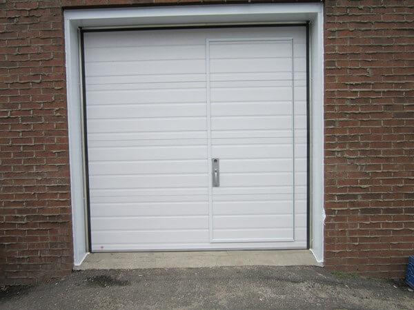 R alisations portes pieton gl - Porte de garage avec porte de service integree ...
